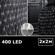 LED сетка с одинарными светодиодами 2х2м белый с контроллером