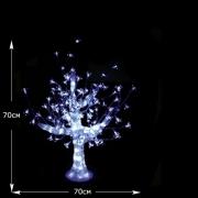 """LED Хрустальная скульптура """"Дерево"""" ,70 см"""