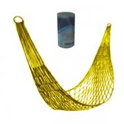 Гамак-сетка с цилиндром (желтый)