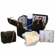 Набор для пикника с изотермическим отделением на 6 персон (бежев