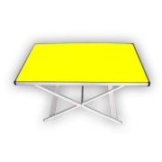 """Стол """"Комфорт"""" раскладной с регулированием высоты,желтый"""