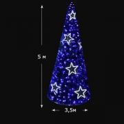 Светодиодная елка 5м Rubi синий