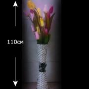 Светодиодные тюльпаны в вазе