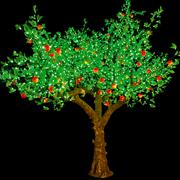 Светодиодные плодовые деревья