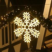 Светодиодные снежинки из Дюралайта