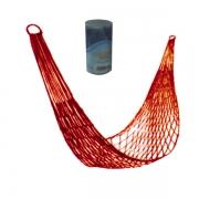 Гамак-сетка с цилиндром (красный)
