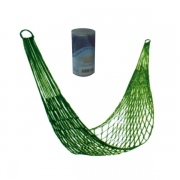 Гамак-сетка с цилиндром (зеленый)