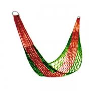 Гамак-сетка с сумочкой (красно-зеленый)