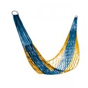 Гамак-сетка с сумочкой (сине-желтый)