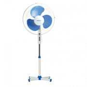 Вентилятор напольный(синий)