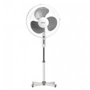 Вентилятор напольный(бело-серый)