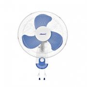 Вентилятор настольный( бело-синий)