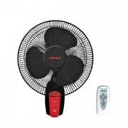 Вентилятор настенный( черно-красный)