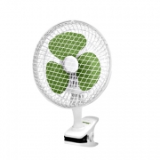 Вентилятор настольный(бело-зеленый)