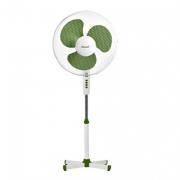 Вентилятор напольный(бело-зеленый)