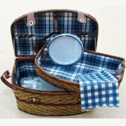 Набор для пикника  6 персон (синий)