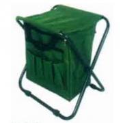 """Табурет """"Турист"""" складной,зеленый с сумкой"""