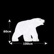 Светодиодный акриловый медведь